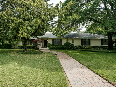 Single Family Home for sales at 4545 Isabella Lane  Dallas, Texas 75229 United States