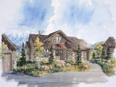 Nhà ở một gia đình for sales at Park City Cabin in Promontory, a Private Mountain & Golf Recreational Community 3809 Cynthia Cir Lot 24 Park City, Utah 84098 Hoa Kỳ
