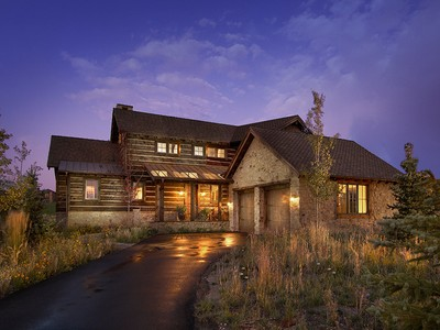 Maison unifamiliale for sales at Luxury Promontory Trappers Cabin with a Fully Sponsored Club Membership 2908 Quick Draw  Park City, Utah 84098 États-Unis