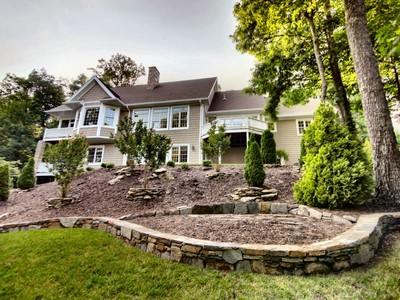 단독 가정 주택 for sales at Custom Home inside Kenmure 116 Scenic Drive Flat Rock, 노스캐놀라이나 28731 미국