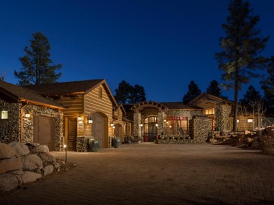Single Family Home for sales at Unique & Stunning Luxury Mountain Home in Pine Canyon 2039 E Barranca Drive Flagstaff, Arizona 86001 United States