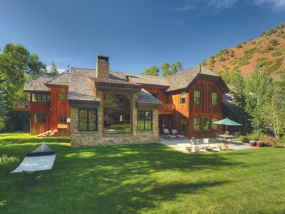 Single Family Home for sales at Snowmass Creek Paradise 333 Snowmass Creek Road Snowmass, Colorado 81654 United States