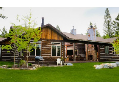 단독 가정 주택 for sales at Remarkable custom built geothermal home 1150 Kienas Road N Kalispell, 몬타나 59901 미국