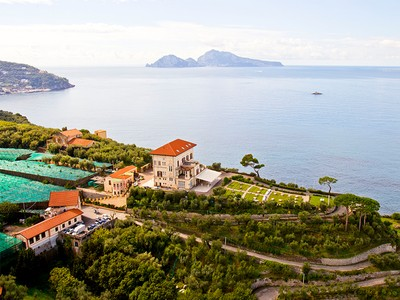 for sales at Spectacular property with panoramic views of the Sorrentina Peninsula Sorrento Naples, Naples 80061 Italia