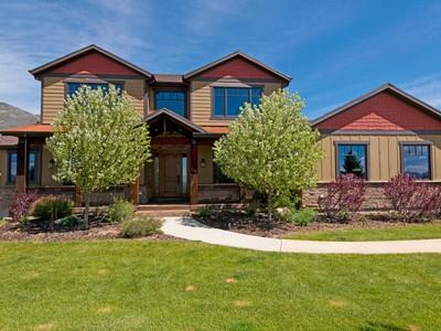 Casa Unifamiliar for sales at Equestrian Luxury Home in Fabulous Dutch Fields 745 Dutch Valley Dr Midway, Utah 84049 Estados Unidos
