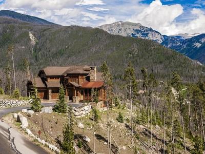 Single Family Home for sales at 625 Old Tonahutu RD 625 Old Tonahutu Ridge Grand Lake, Colorado 80447 United States