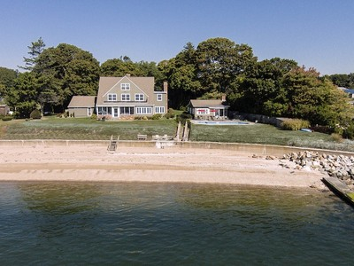 Einfamilienhaus for sales at A Slice of Heaven on Long Island Sound 113 Buffalo Bay  Madison, Connecticut 06443 Vereinigte Staaten