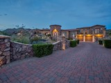 Property Of Elegant Custom Home Encompassed By Natural Mountain Setting & Sensational Views