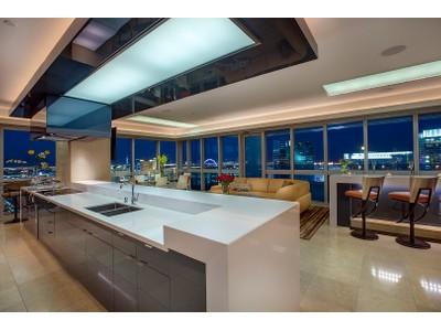 Maison unifamiliale for sales at The Sky-Estate Penthouse at The Martin, Las Vegas 4471 Dean Martin Dr, 4308  Las Vegas, Nevada 89103 États-Unis