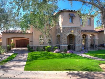 Частный односемейный дом for sales at Gorgeous 4 Bedroom Home In The Heart Of Exclusive DC Ranch 9087 E Mountain Spring Rd Scottsdale, Аризона 85255 Соединенные Штаты