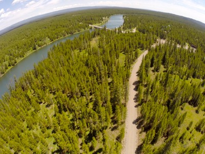 土地,用地 for sales at Henry's Fork River Homesite 4036 Elk Ridge Drive Island Park, 爱达荷州 83429 美国