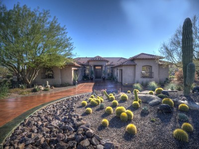 Single Family Home for sales at Exceptional Home at Boulder Ridge 8463 E Preserve Way Scottsdale, Arizona 85262 United States