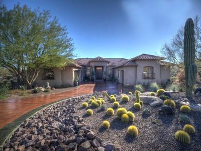 Maison unifamiliale for sales at Exceptional Home at Boulder Ridge 8463 E Preserve Way Scottsdale, Arizona 85262 États-Unis