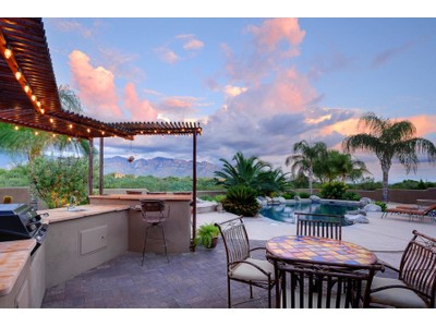 Single Family Home for sales at Custom Home In A Sensational Resort Setting Close To Rancho Vistoso 1701 W Moore Road Tucson, Arizona 85755 United States
