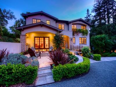 獨棟家庭住宅 為 出售 在 Mill Valley Masterpiece - Resort-Like Living! 156 Oakdale Avenue Mill Valley, California 94941 United States