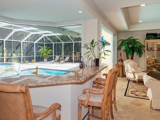 Single Family Home for sales at Golf Course Home at Ocean Reef 39 Thatch Palm Way Key Largo, Florida 33037 United States