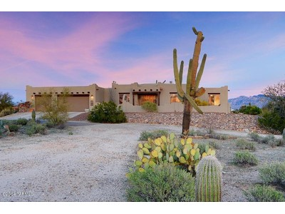 Single Family Home for sales at Perfect Southwest Contemporary on 3.31 Acres 5425 W Oasis Road Tucson, Arizona 85742 United States