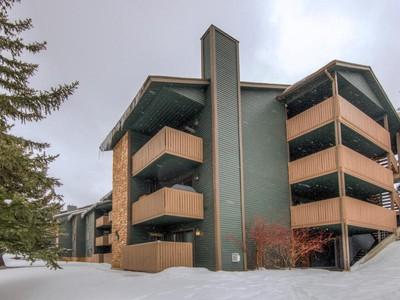 Condominium for sales at Updated Two-Bedroom Powderwood Condo 7065 North 2200 West #2-S Park City, Utah 84098 United States