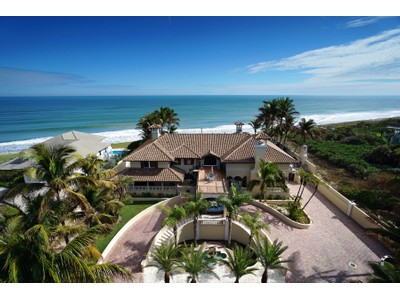 Single Family Home for  at Breathtaking Ocean View 10880 Highway A1A N Vero Beach, Florida 32963 United States