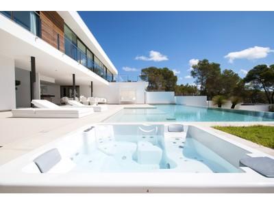 Einfamilienhaus for sales at Neu Erbaute Villa In Vista Alegre Mit Meerblick  Ibiza, Ibiza 07817 Spanien