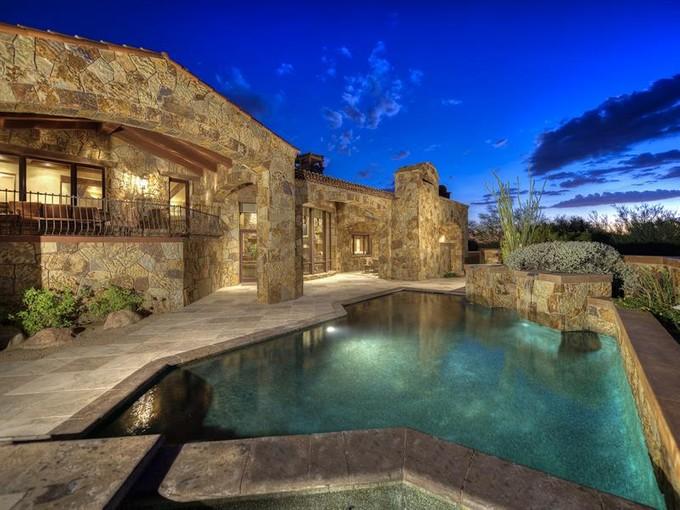 Maison unifamiliale for sales at Exquisite Home in Guard-Gated Whisper Rock Estates 7552 E Whisper Rock Trail   Scottsdale, Arizona 85266 États-Unis
