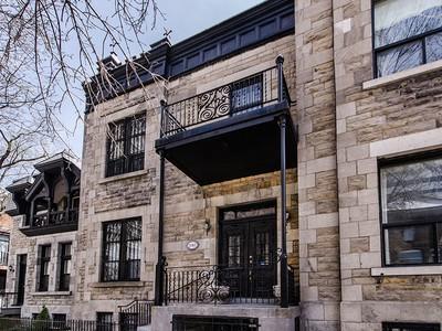 Maison unifamiliale for sales at Montréal 2082 Rue Tupper Montreal, Québec H3H1N8 Canada