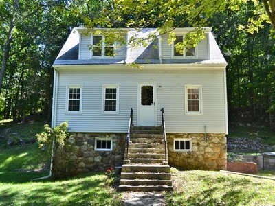 Single Family Home for sales at Well Maintained Cape Cod on 17.3 Acres 133-215-217 Brushy Hill Road   Danbury, Connecticut 06812 United States
