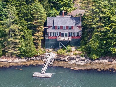 Single Family Home for sales at Cross Point Rd 487 Cross Point Road Edgecomb, Maine 04550 United States