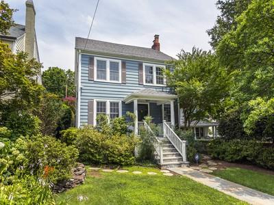 Tek Ailelik Ev for sales at Chevy Chase 5509 Nevada Avenue Nw Washington, Columbia Bölgesi 20015 Amerika Birleşik Devletleri