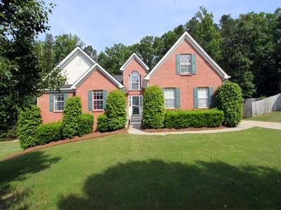 Single Family Home for sales at Beautiful Brick Ranch 2810 Angel Oak Circle Dacula, Georgia 30019 United States