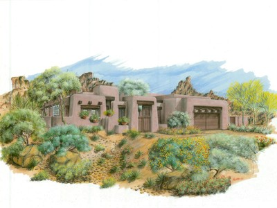 Villa for sales at Luxury New Build in Privada 10585 E Crescent Moon #17 Scottsdale, Arizona 85262 Stati Uniti