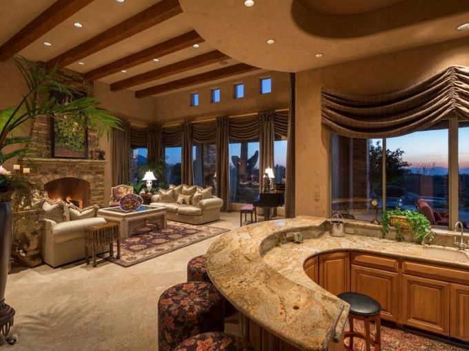 Single Family Home for sales at Stunning Residence in The Peaks of North Scottsdale on over 4 Acres 9701 E Happy Valley Rd #3 Scottsdale, Arizona 85255 United States