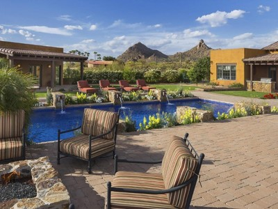 Maison unifamiliale for sales at Incredible Western Retreat on 2.3 Acres in North Scottsdale 10124 E Whispering Wind Drive Scottsdale, Arizona 85255 États-Unis