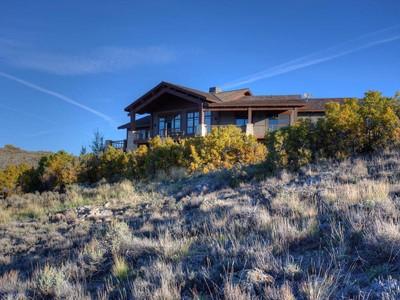 Maison unifamiliale for sales at Impeccable Tuhaye Masterpiece 3520 E Ridgeway Dr  Heber City, Utah 84032 États-Unis