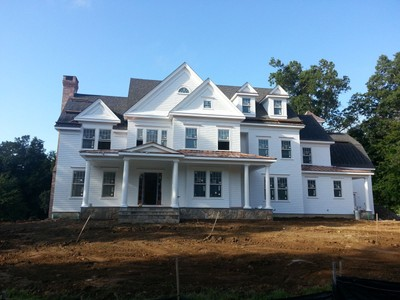 Casa para uma família for sales at This Is The Last Lot Available 131 Olmstead Hill Road  Wilton, Connecticut 06897 Estados Unidos