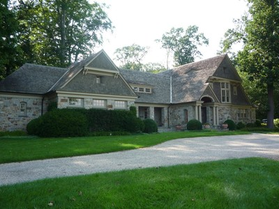 Casa para uma família for sales at Custom Stone Manor Home 2 Hartley Farms Road Harding Township, Nova Jersey 07976 Estados Unidos