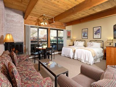 Single Family Home for  at Remodeled Turnkey Aspen Square Studio 617 E. Cooper Ave Unit 321 Aspen, Colorado 81611 United States