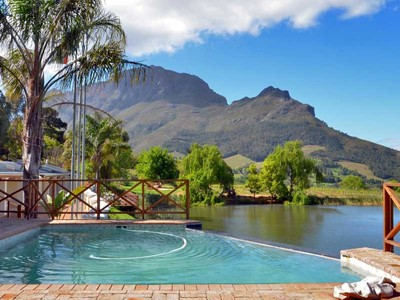 Maison unifamiliale for sales at Famous Stellenbosch Guest Farm on tourist route Stellenbosch, Cap-Occidental Afrique Du Sud
