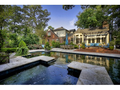 Single Family Home for sales at Backyard Oasis With Skyline Views 1741 N Pelham Road NE  Atlanta, Georgia 30324 United States