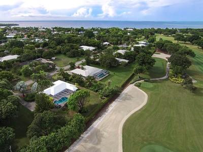 Частный односемейный дом for sales at Golf Course Living at Ocean Reef 18 Country Club Road Key Largo, Florida 33037 United States