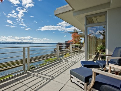 Condominium for sales at One Carillon Point 5505 Lake Washington Blvd NE 3A Kirkland, Washington 98033 United States