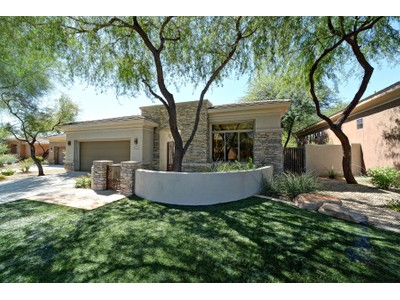 Single Family Home for sales at Former Model Built By Monterey Homes On The Golf Course In Prestigious Grayhawk 19568 N 84th Street  Scottsdale, Arizona 85255 United States