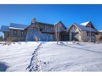 단독 가정 주택 for sales at New Sophisticated Contemporary Glenwild Home with Mountain & Golf Course Views 8035 Glenwild Dr   Park City, 유타 84098 미국
