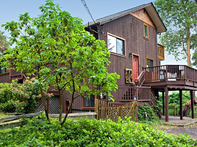 Single Family Home for sales at Chic Country Home with Ocean View 186 Isle View Drive  Salt Spring Island, British Columbia V8K2G5 Canada
