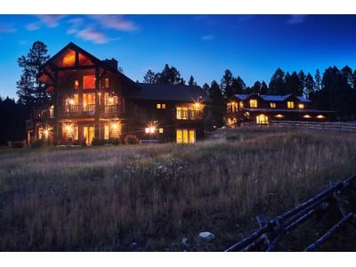 獨棟家庭住宅 for sales at Ridgetop Masterpiece 298 Ridge Fork Road   Big Sky, 蒙大拿州 59716 美國