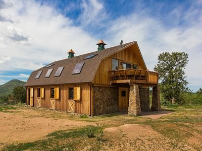 Maison unifamiliale for sales at 2631 County Road 86  Victor, Colorado 80860 États-Unis