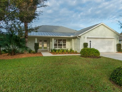 Single Family Home for sales at Canalfront Home in Palm Isles 128 35th Sq SW Vero Beach, Florida 32968 United States