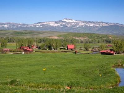 Hayvan Çiftliği/Çiftlik/Ekili Alan for sales at Elk River Ranch 25565 RCR 54  Steamboat Springs, Colorado 80487 Amerika Birleşik Devletleri