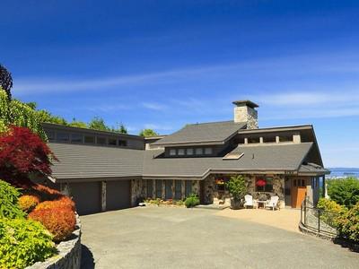 Nhà ở một gia đình for sales at Incredible Ocean Views 8763 Beaumaris Place  North Saanich, British Columbia V8L3Z6 Canada