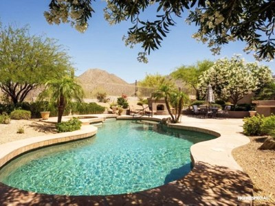 Single Family Home for sales at Mountain Views & Privacy With Backyard Overlooking The McDowell Sonoran Preserve 11034 E Verbena Lane Scottsdale, Arizona 85255 United States